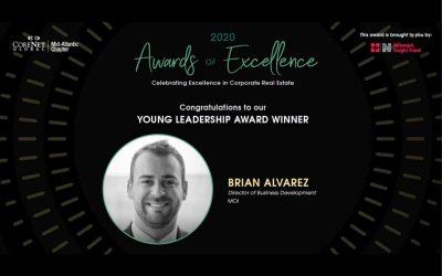 Brian Alvarez Named CoreNet Global's Young Leadership Award Winner