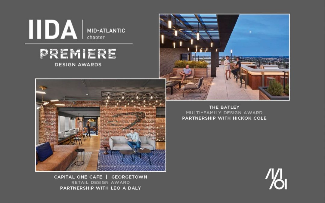 MOI Partnerships Win Two IIDA Design Awards